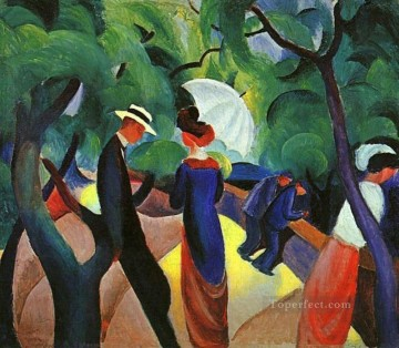 Promenade August Macke Oil Paintings